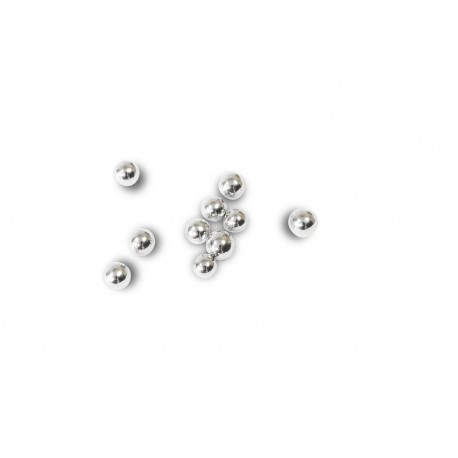 Perles Argent 6mm (100 grs)