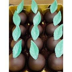 Clémentines Confites Enrobées chocolat Noir
