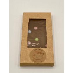 Tablette de chocolat LAIT/CONFETTIS