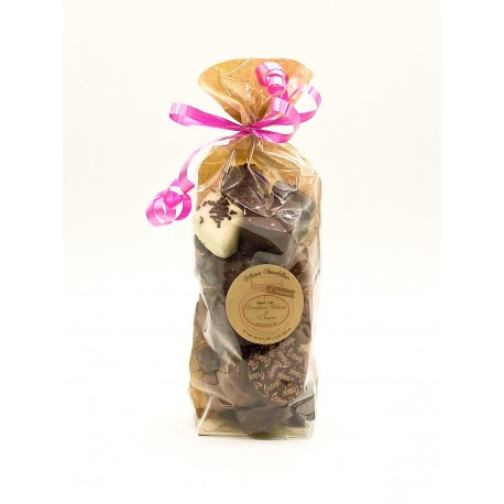 Sachets de chocolats mélangés Lait,Noir ou assorti