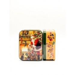 Boîte métal père Noël PM
